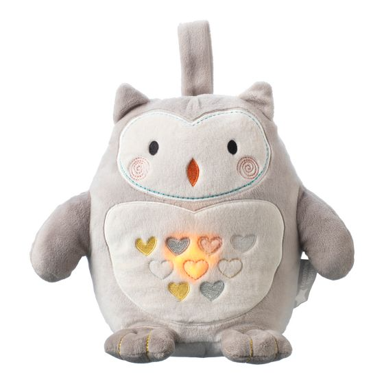 Tommee Tippee Ollie the Owl με λευκούς ήχους-Επαναφορτιζόμενη με USB