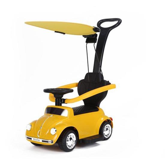 BABY ADVENTURE Παιδικό Ηλεκτρικό Αυτοκίνητο Baby Adventure Licensed Volkswagen Beetle Yellow