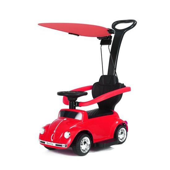 BABY ADVENTURE Παιδικό Ηλεκτρικό Αυτοκίνητο Baby Adventure Licensed Volkswagen Beetle Red