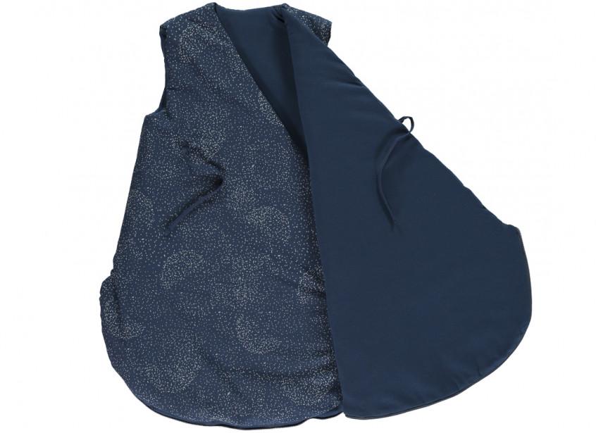 Cloud Sleeping Bag Gigoteuse Saco De Dormir Gold Bubble Night Blue Nobodinoz 2