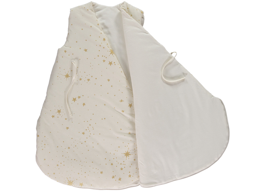 Cloud Sleeping Bag Gigoteuse Saco De Dormir Gold Stella Natural Nobodinoz 2
