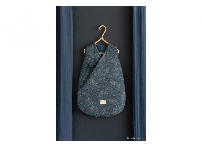 Cloud Sleeping Bag Gold Bubble Night Blue Nobodinoz 3 2000000096551
