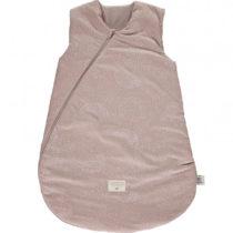 Cocoon Sleeping Bag Giogoteusse Saco De Dormir White Bubble Misty Pink Nobodinoz 1