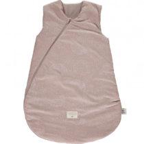 Cocoon Sleeping Bag Giogoteusse Saco De Dormir White Bubble Misty Pink Nobodinoz 1