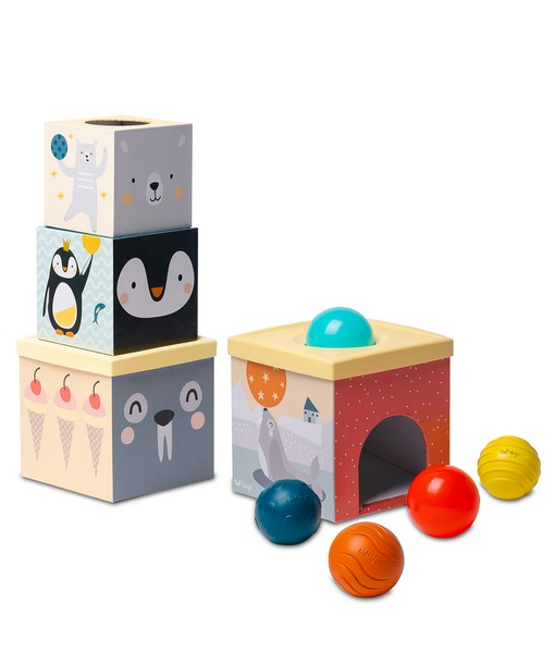 Taf Toys North Pole Ball Drop Stacker