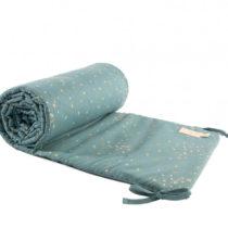 Nest Cot Bumper Gold Confetti Magic Green Nobodinoz 1 Copia