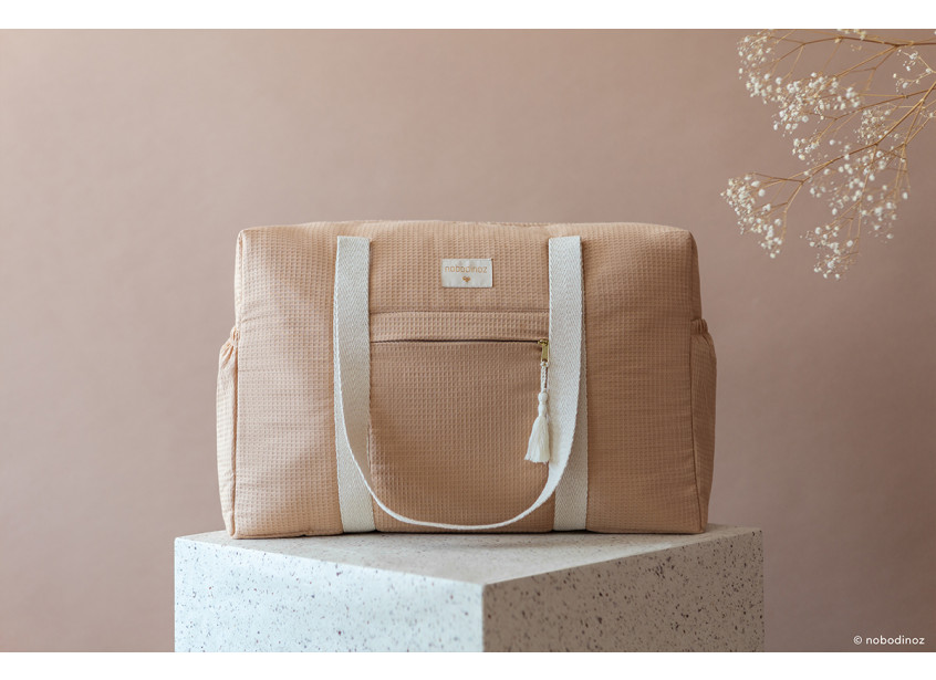 Opera Waterproof Maternity Bag Nude Nobodinoz 6 8435574918147 1