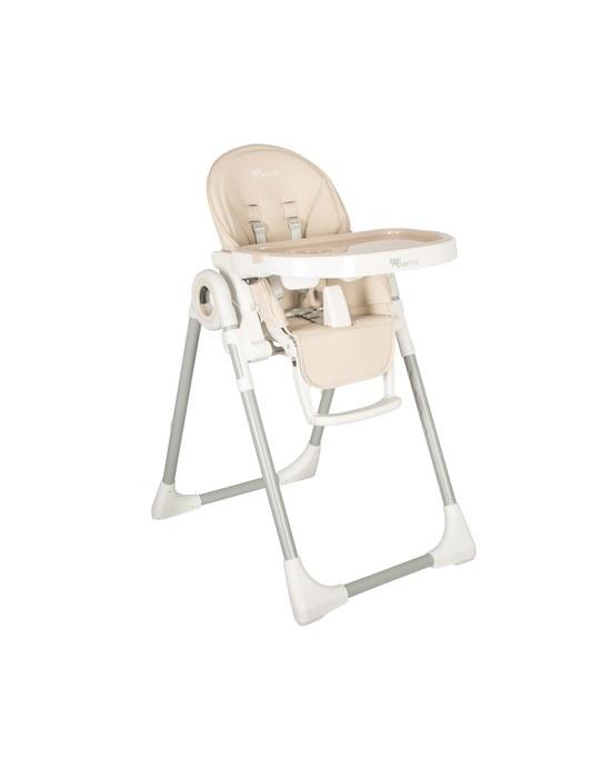 BABY ADVENTURE Kάθισμα Φαγητού VIVA 2 Light Grey