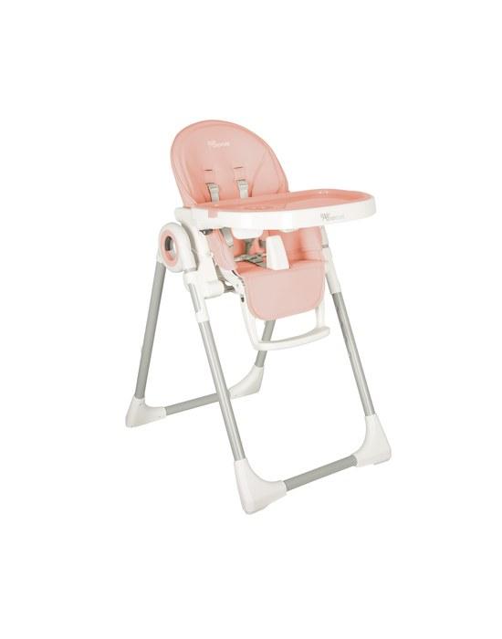 BABY ADVENTURE Kάθισμα Φαγητού VIVA 2 Powder Pink