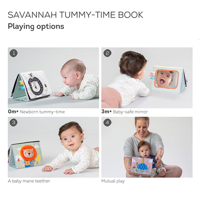 T 12705 Savanah Tummy Time Book Paixnidi Anaptuksis 05