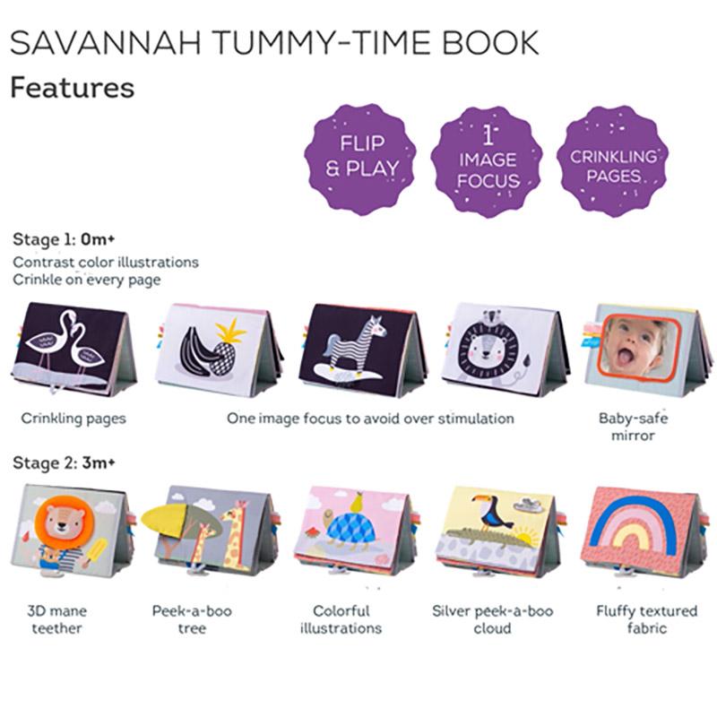 T 12705 Savanah Tummy Time Book Paixnidi Anaptuksis 07