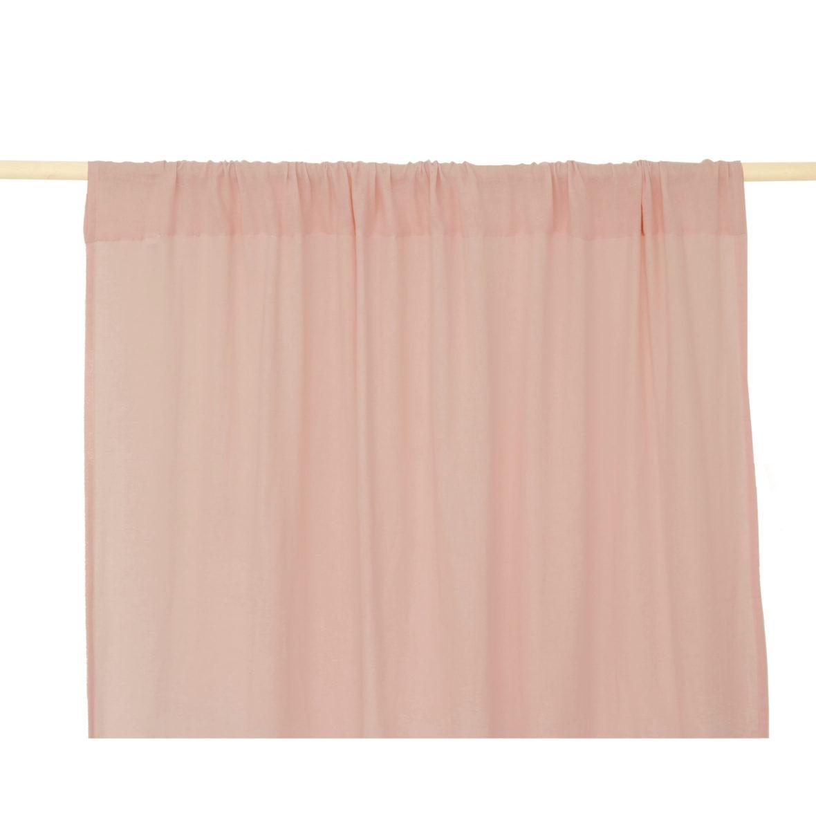 Nobodinoz NEW ELEMENTS. Κουρτίνα Utopia Dream Pink 146/280