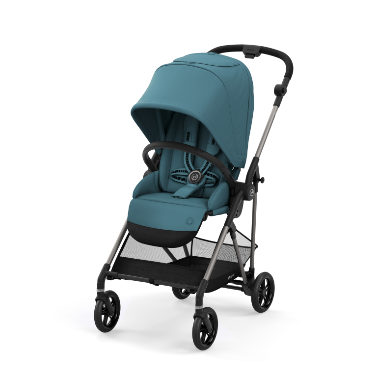 Cybex Melio TPE Καρότσι River Blue Gold Collection