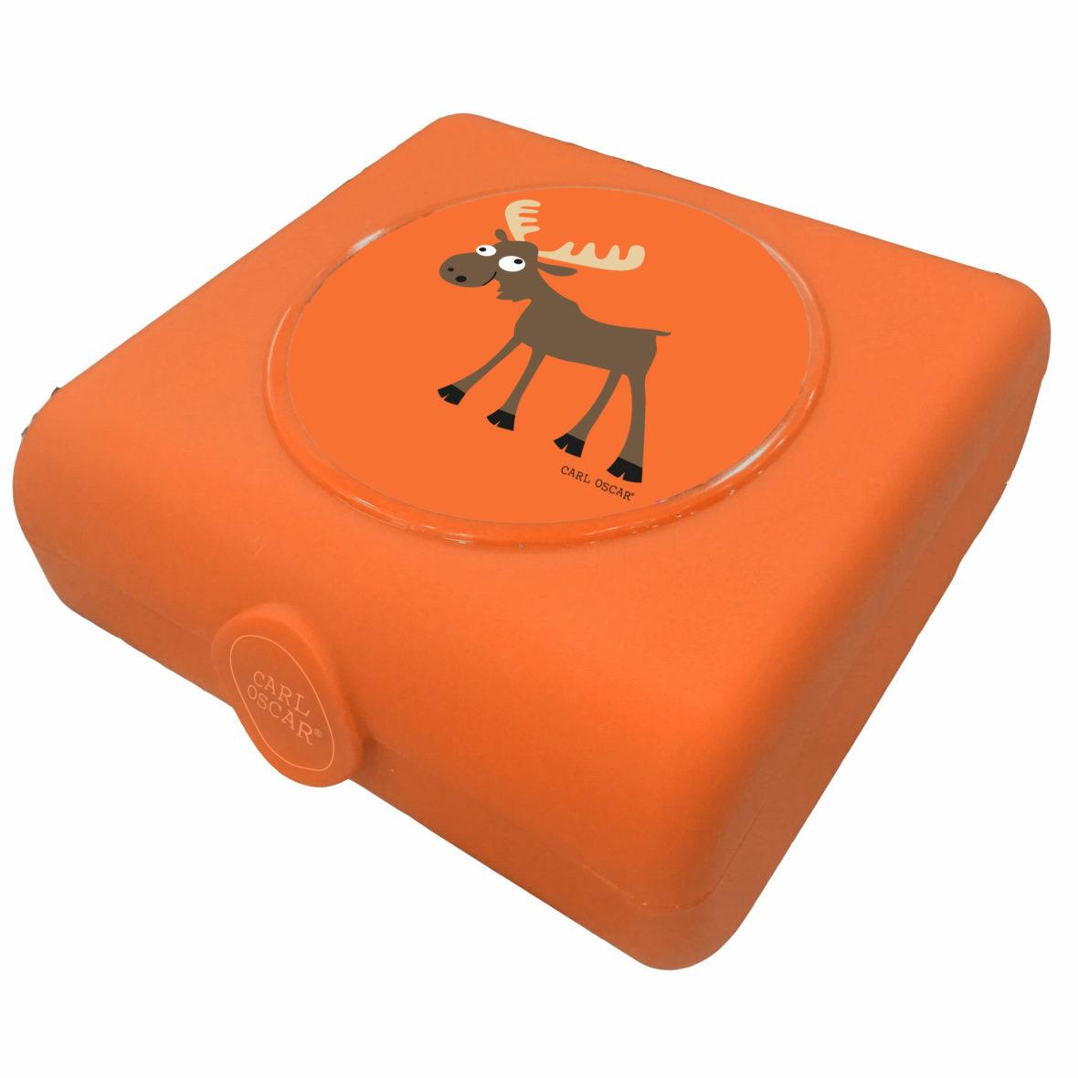 Carl Oscar Sandwich Boxes Orange Moose