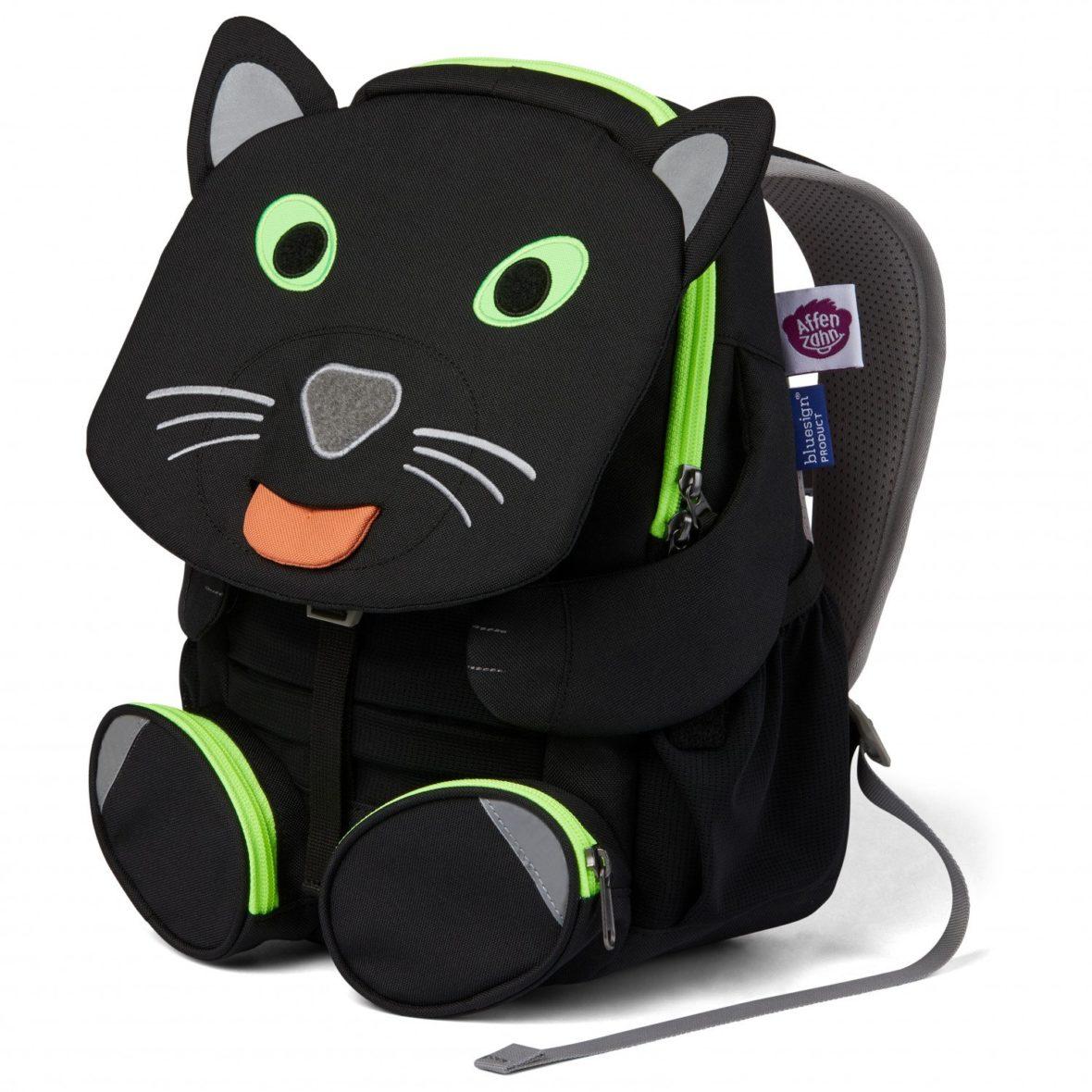 Affenzahn Grosser Freund Panther Kids Backpack Detail 3