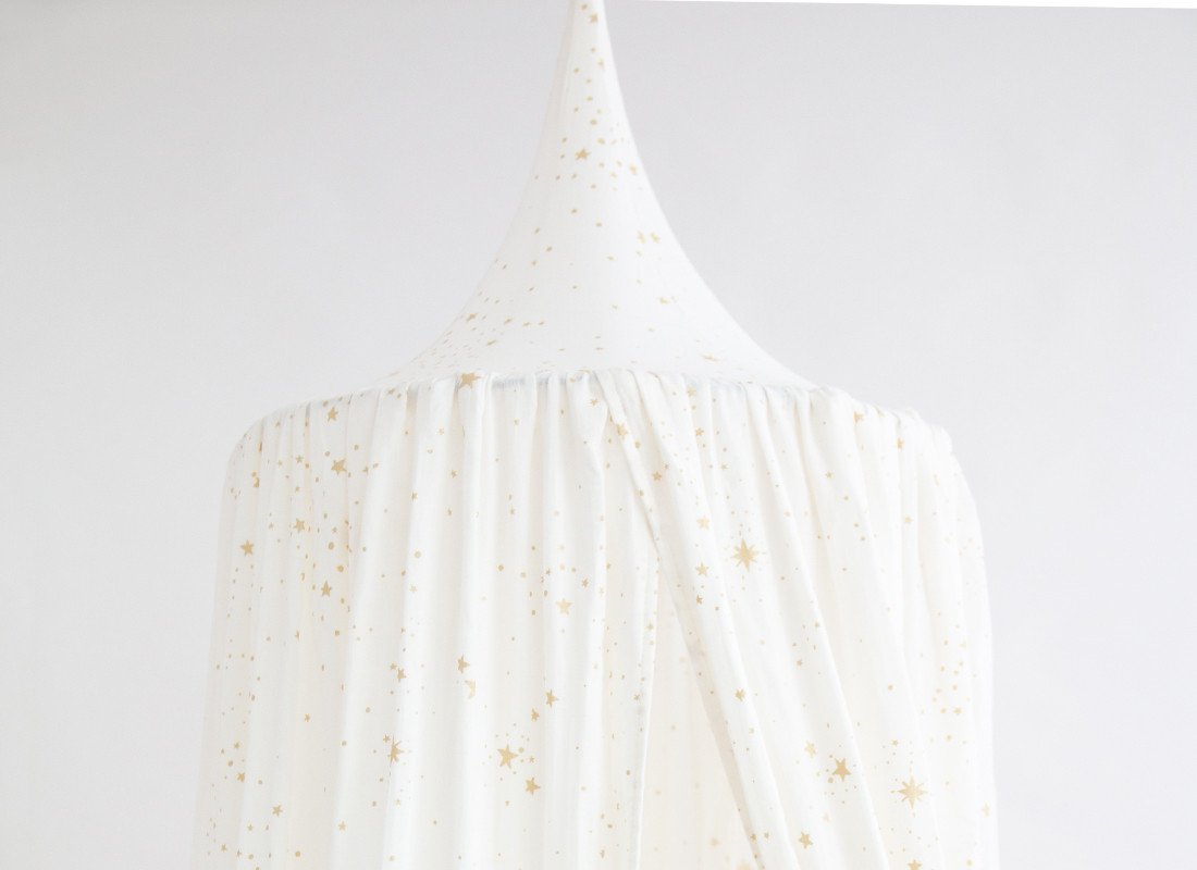 Canopy Amour Gold Stella White 2