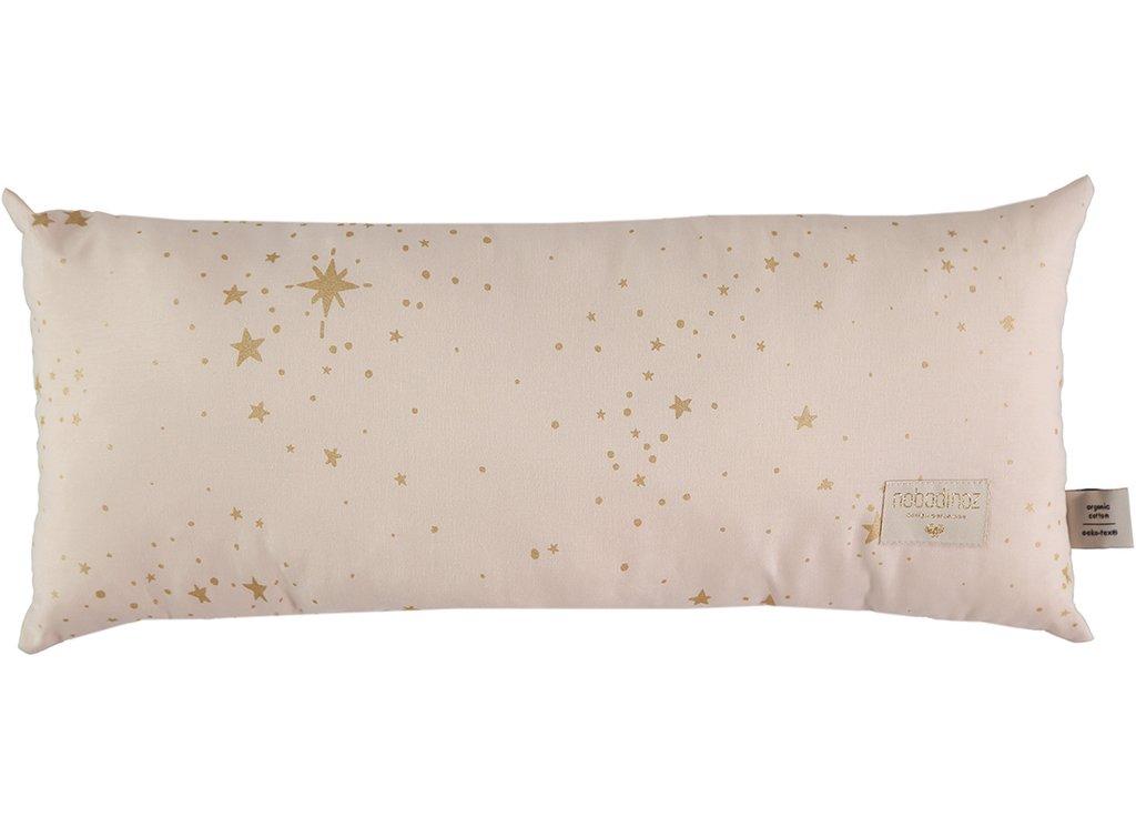 NOBODINOZ NEW ELEMENTS. Μαξιλάρι Hardy Gold stella/Dream pink