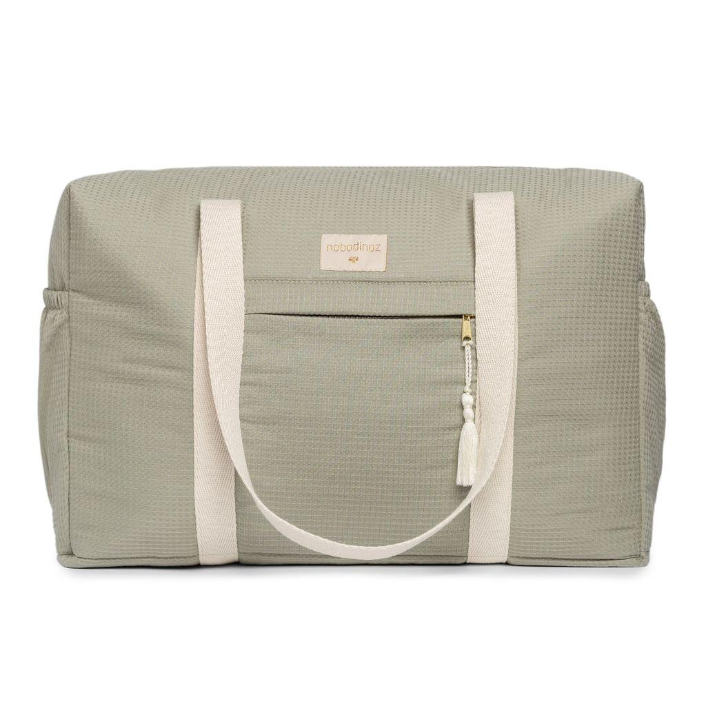 NOBODINOZ NEW ELEMENTS. Τσάντα μητρότητας Opera Laurel Green 29X46X20