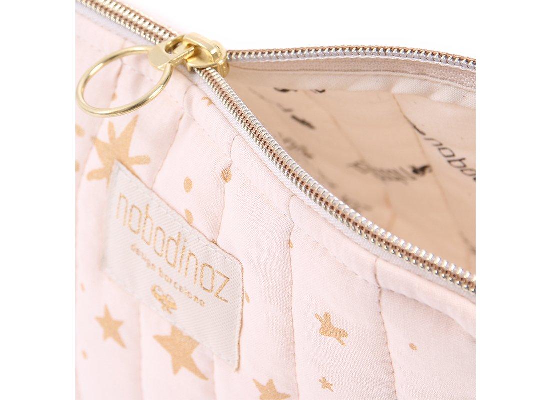 Holiday Vanity Case Trousse De Toilette Neceser Gold Stella Dream Pink Nobodinoz 2