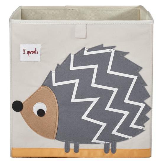 3 Sprouts Κουτί αποθήκευσης παιχνιδιών Storage Box Hedgehog