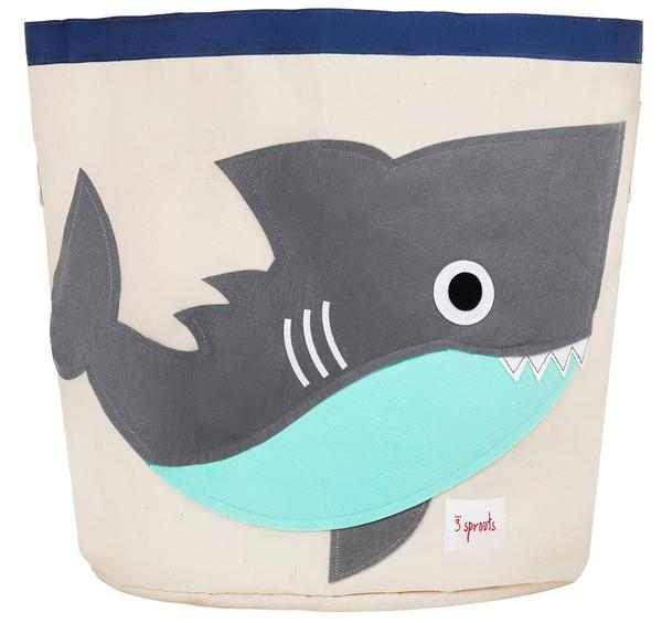 3 Sprouts Καλάθι παιχνιδιών Storage bin Shark