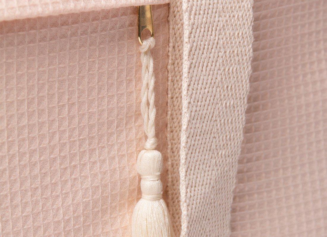 Opera Waterproof Maternity Bag Dream Pink Detail Nobodinoz
