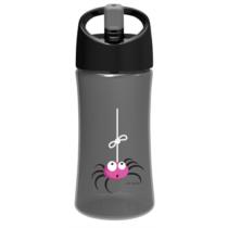 Water Bottle Kids Spider Grey 01 Suln Y1