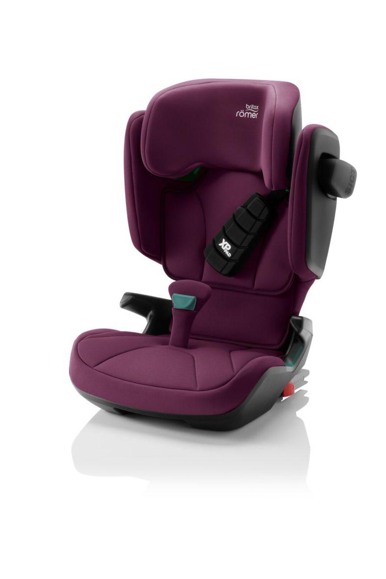 BRITAX KIDFIX M i-Size Κάθισμα Αυτοκινήτου Burgundy Red